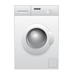 Vector illustration of washing machine