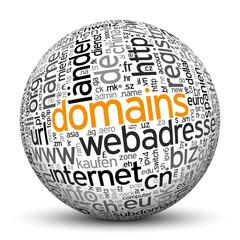 Kugel, Domains, Marketing, Handel, kaufen, verkaufen, Adresse