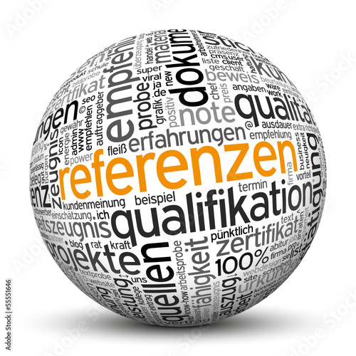 Kugel, Referenzen, Beispiele, Arbeitsproben, Qualität, Nachweis