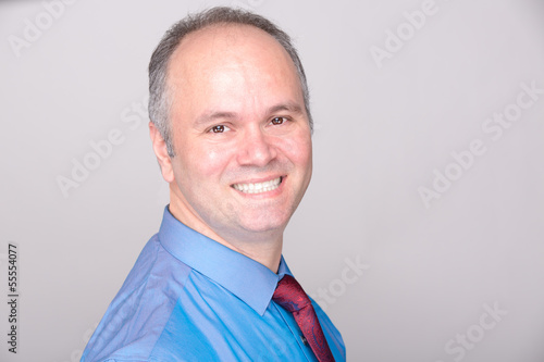 Smiling Office Worker