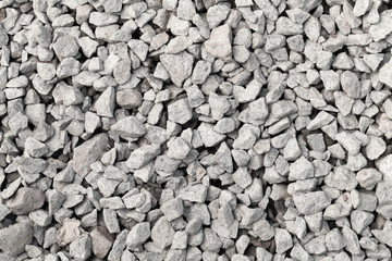 Gray industrial gravel background texture