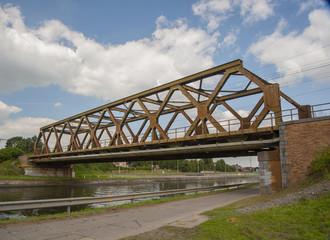 nimy bridge mons belgium