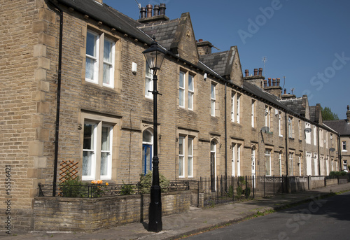 row of victorian terraced houses