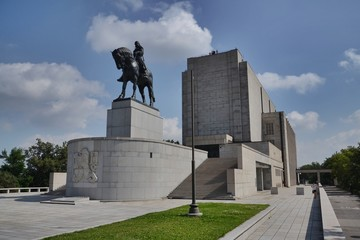 National memorial at Vitkov, Prague, Czech republic
