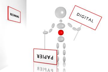 DIGITAL vs RECHNUNG