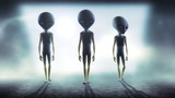 Aliens 3d animation