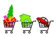 Shopping cart set