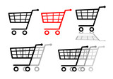 Shopping cart set