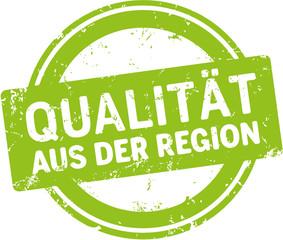 grünes Siegel Qualität aus der Region