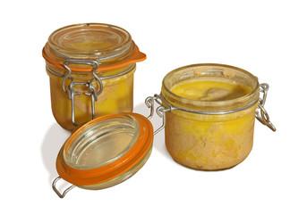 terrines de foie gras