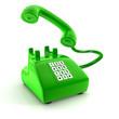 Grünes Telefon
