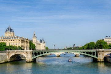 River Seine in Paris. France.