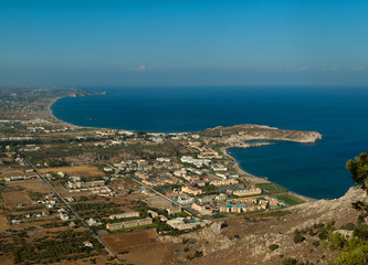 Kolimbia Rhodes view