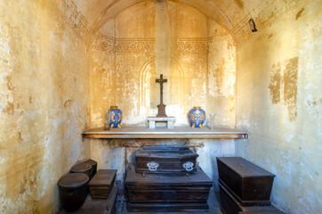 Interior of a Tomb