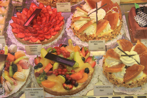 Luxurious French pastry
