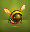 Bee vector icon