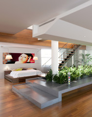 Loft with Atrium (detail)