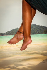 Legs and hammock
