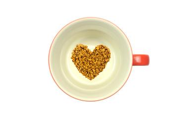 ハート インスタントコーヒー