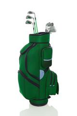 Golfbag grün