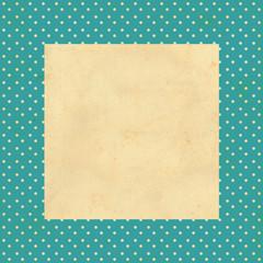 vintage background, polka dot style