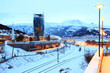 Narvik Town Cityscape Norway
