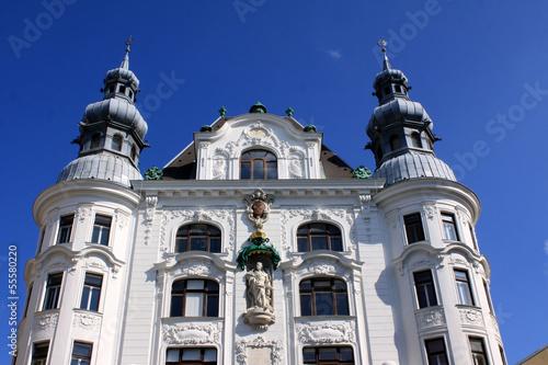 Historische Fassade in Wien