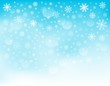 Snowflake theme background 3