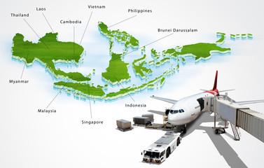Air transport in ASEAN, concept