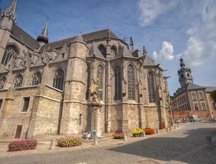 st wadrau church mons belgium