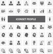 Website Iconset - People 44 Basic Icons