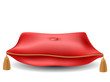 Red pillow for awards