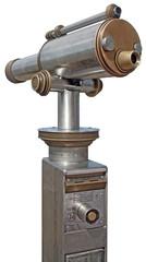 A coin telescope