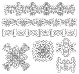 Medieval decoration set