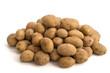 Haufen Kartoffeln