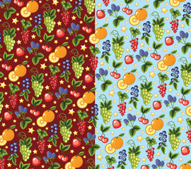 Wallpaper of the colorful fruits.