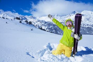 I love ski