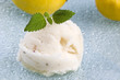lemon sorbet with lavender