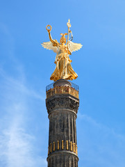 The Victory Column in Berlin, Germany