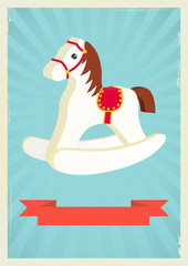 Hobby horse background