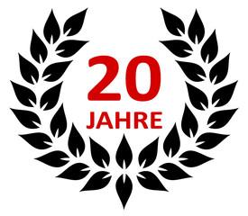Lorbeer 20 Jahre