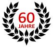 Lorbeerkranz 60 Jahre