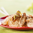 Cellophane noodles with meat