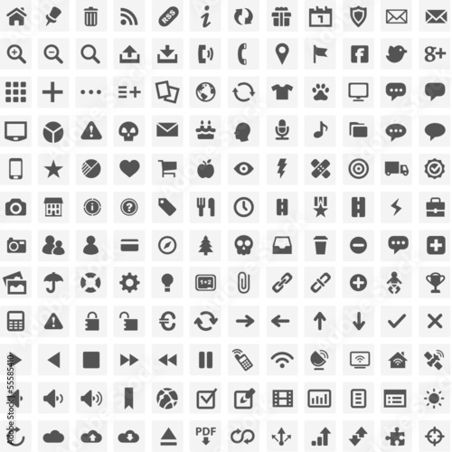 144 Simple and Perfect Webicons