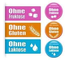 Stickers für Allergien
