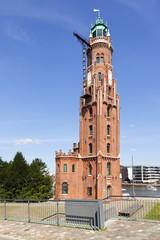 Historischer Leuchtturm in Bremerhaven