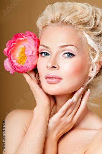 Fototapeten,berühren,attraktiv,schön,schönheit