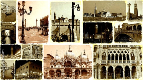 COLLAGE ANTIGUO DE VENECIA