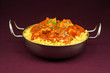 Chicken jalfrezi balti dish