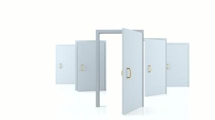 Opening doors - new opportunities, possibilities